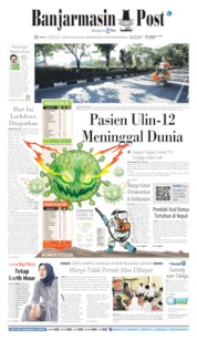 Cover Banjarmasin Post 30 Maret 2020