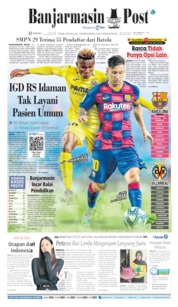 Cover Banjarmasin Post 05 Juli 2020