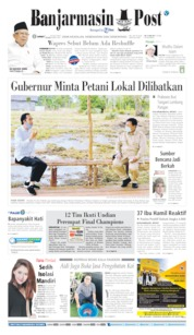 Cover Banjarmasin Post 10 Juli 2020