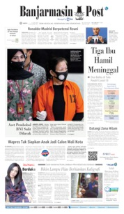 Cover Banjarmasin Post 11 Juli 2020