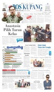 Cover Pos Kupang 08 November 2019