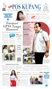 Cover Pos Kupang 12 November 2019