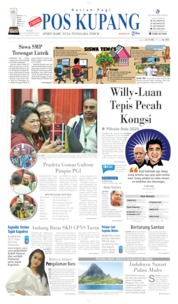 Cover Pos Kupang 13 November 2019
