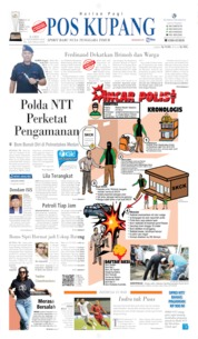 Cover Pos Kupang 14 November 2019