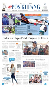 Cover Pos Kupang 18 November 2019
