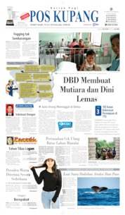 Cover Pos Kupang 19 Januari 2020