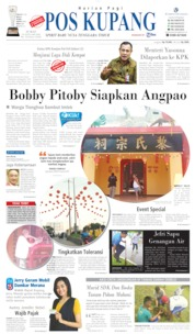 Cover Pos Kupang 24 Januari 2020