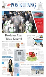 Pos Kupang Cover 29 February 2020