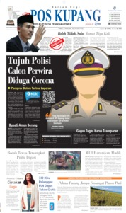Pos Kupang Cover 04 April 2020