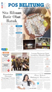 Pos Belitung Cover 21 February 2020