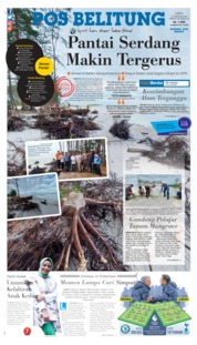 Pos Belitung Cover 22 February 2020