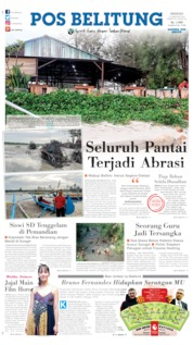 Pos Belitung Cover 23 February 2020