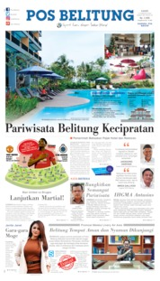 Pos Belitung Cover 27 February 2020