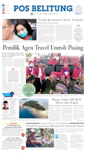 Pos Belitung Cover 28 February 2020