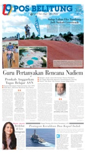 Pos Belitung Cover 05 July 2020