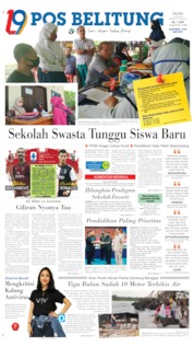 Pos Belitung Cover 07 July 2020