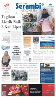 Serambi Indonesia Cover 06 May 2020