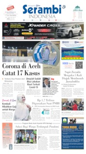 Serambi Indonesia Cover 08 May 2020