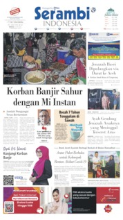 Serambi Indonesia Cover 10 May 2020