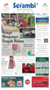Serambi Indonesia Cover 11 May 2020