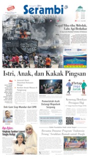 Serambi Indonesia Cover 12 May 2020