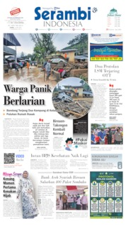 Serambi Indonesia Cover 14 May 2020
