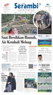Serambi Indonesia Cover 15 May 2020