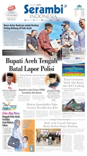 Serambi Indonesia Cover 16 May 2020