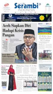 Serambi Indonesia Cover 19 May 2020