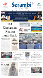 Serambi Indonesia Cover 22 May 2020