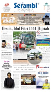 Serambi Indonesia Cover 23 May 2020
