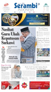 Serambi Indonesia Cover 28 May 2020