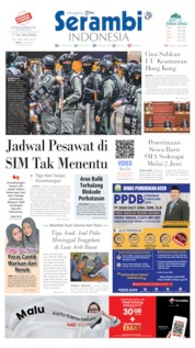 Serambi Indonesia Cover 29 May 2020