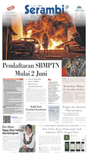 Serambi Indonesia Cover 31 May 2020
