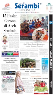 Cover Serambi Indonesia 04 Juli 2020