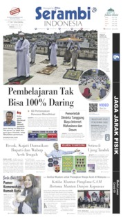 Serambi Indonesia Cover 05 July 2020