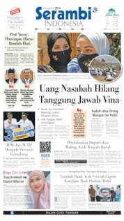 Cover Serambi Indonesia 07 Juli 2020