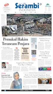 Cover Serambi Indonesia / 09 JUL 2020