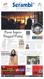 Cover Serambi Indonesia 10 Juli 2020