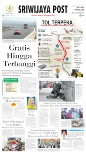 Cover Sriwijaya Post 15 November 2019