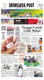 Sriwijaya Post Cover 21 January 2020
