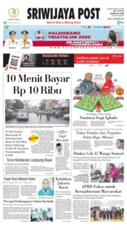 Cover Sriwijaya Post 20 Februari 2020