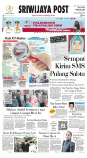 Cover Sriwijaya Post 21 Februari 2020