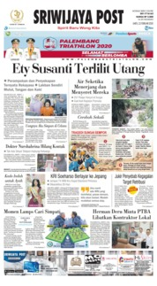 Sriwijaya Post Cover 22 February 2020