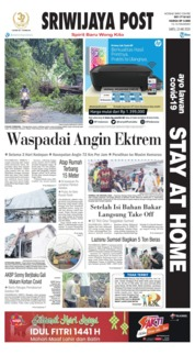 Sriwijaya Post Cover 23 May 2020