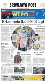 Sriwijaya Post Cover 04 July 2020