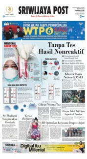 Sriwijaya Post Cover 07 July 2020