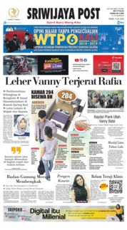 Sriwijaya Post Cover 09 July 2020