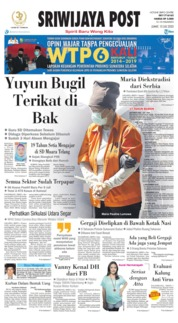 Sriwijaya Post Cover 10 July 2020