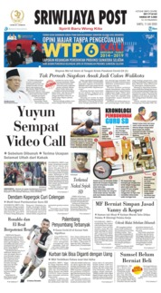 Cover Sriwijaya Post 11 Juli 2020